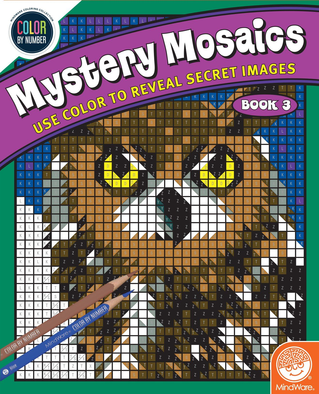Color By Number Mystery Mosaics Book 3 Find Out More About The Great Product At The Image Link This Is An Affiliate L Mosaic Books Coloring Books Mosaic