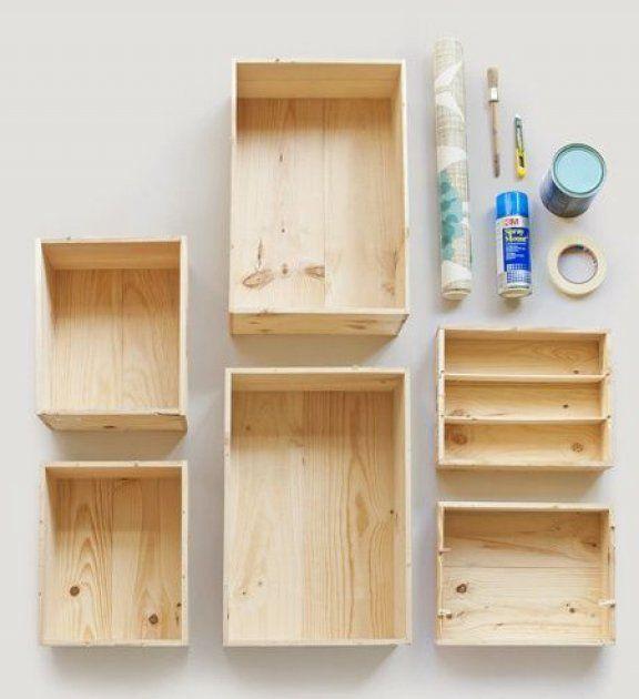 como hacer estanterias de madera