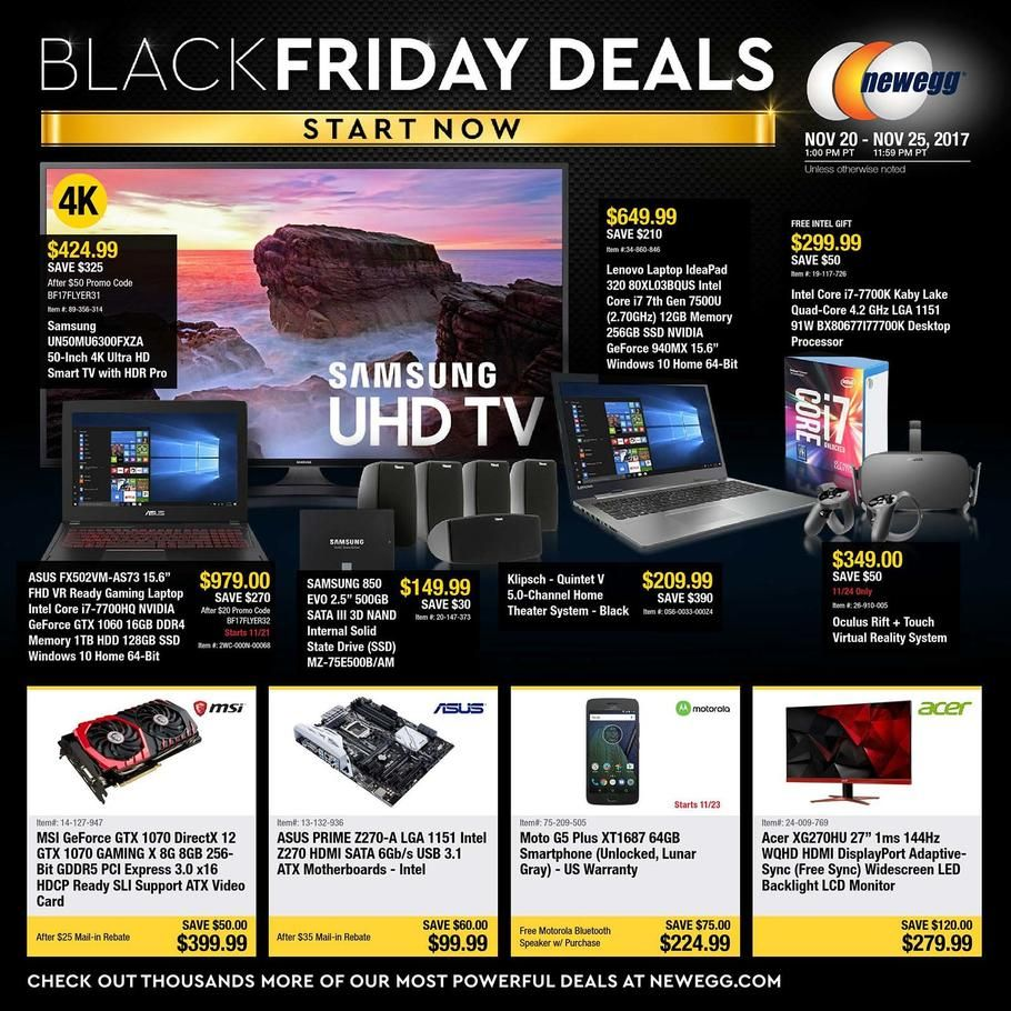Newegg Black Friday 2017 Ad Scan Deals And Sales Coupons Neweggs Black Friday 2017 Deals Are Here Neweggs S Black Friday Ads Black Friday Black Friday Deals