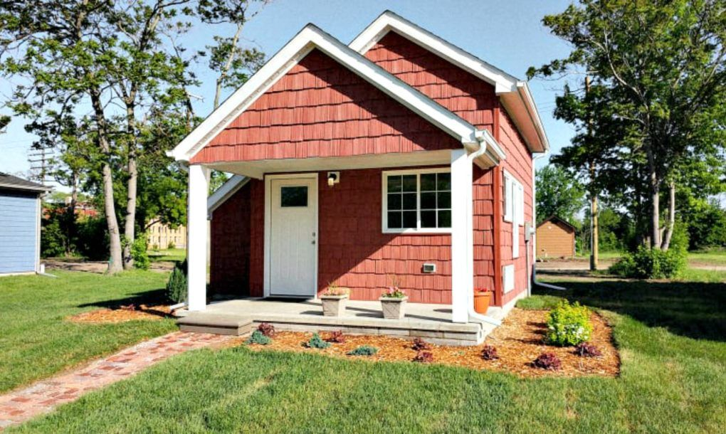 These Tiny Houses Help Minimum Wage Workers Become Homeowners In Detroit
