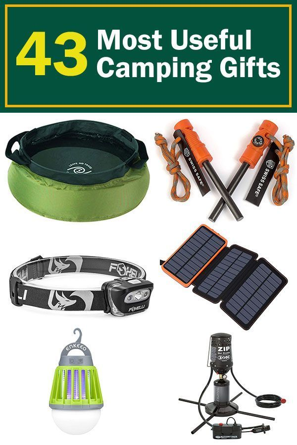 Photo of The best camping gifts for people who love to be outdoors. This is an awesome li…