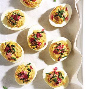 Not so devilish eggs recipe makeover healthy deviled eggs devil food forumfinder Gallery