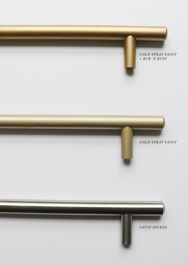 How To Get The Brass Look Drawer Hardware For Much Less Jones