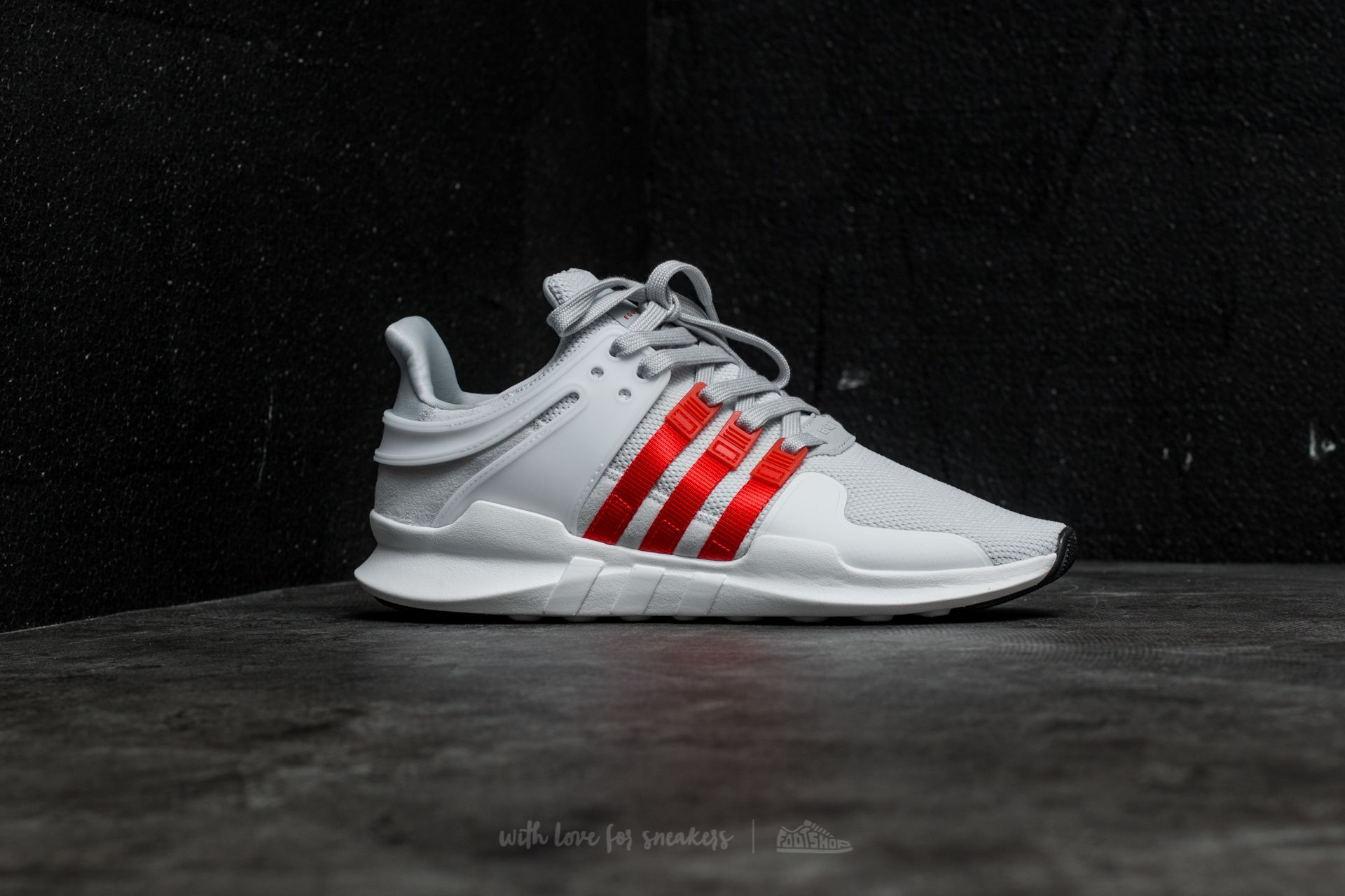 best service 6d583 bb92f adidas EQT Support ADV Clear Grey /Bold Orange/ Ftw White at ...