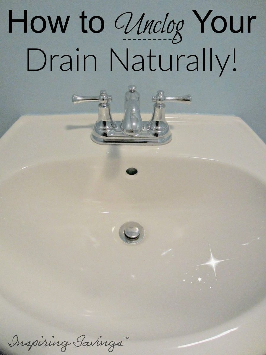 How To Unclog Your Drain Naturally 2 Ingredients Homemade Drain Cleaner Unclog Drain Cleaner