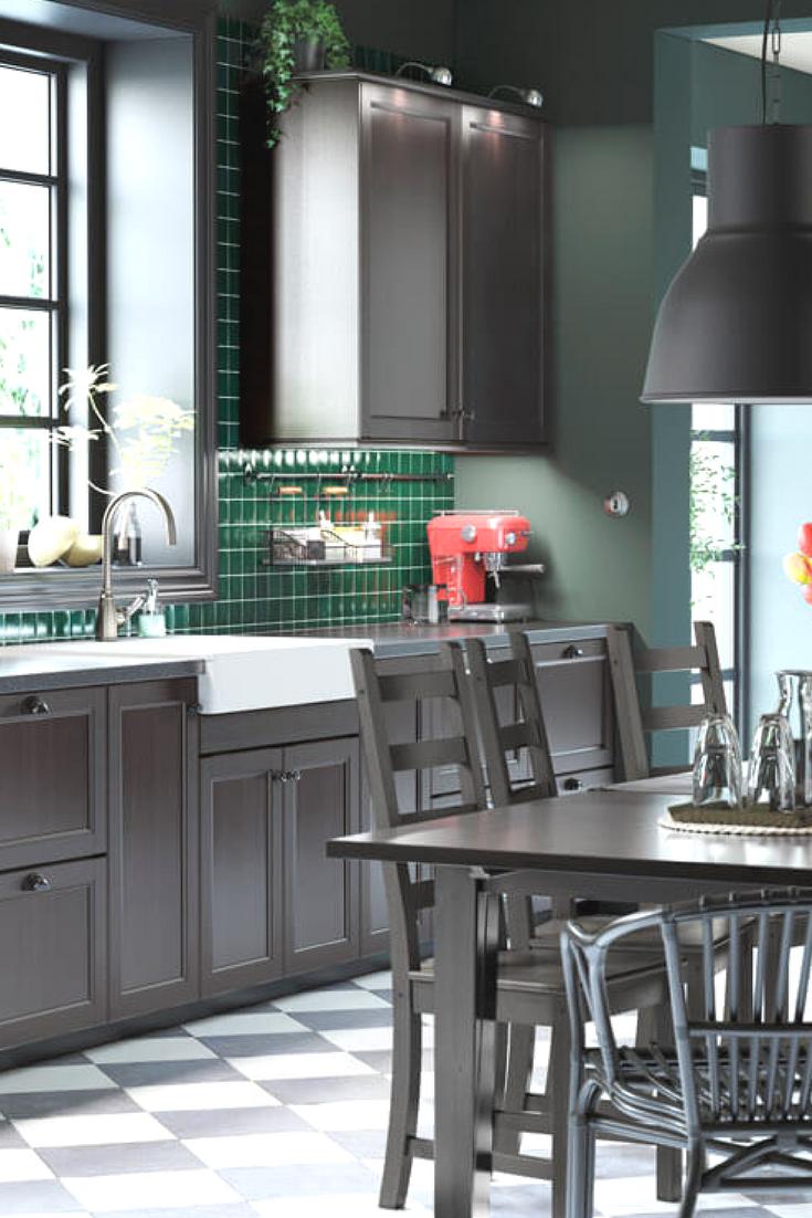 Schwarze Küche: Bilder & Ideen für dunkle Küchen | Kueche, In and Und