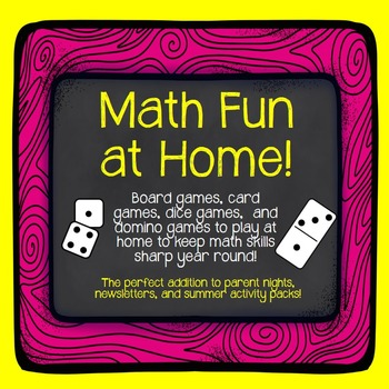 Math Games Parents Can Play With Kids At Home Perfect For Summer