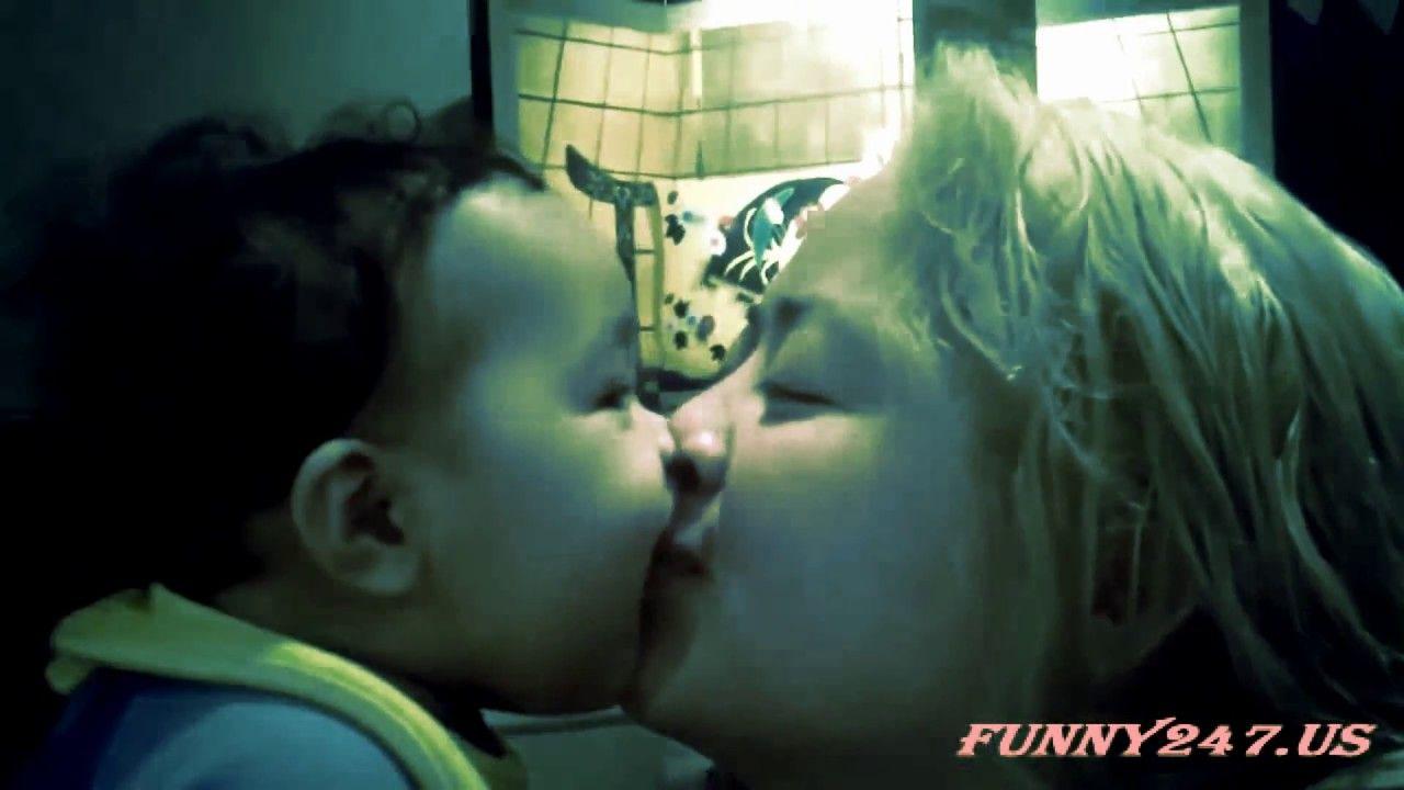 Baby Kissing Hot Woman Lips Best Kisses pilation