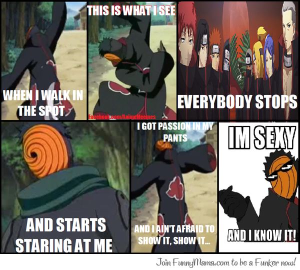 Funny Meme Characters : Anime manga naruto shippuden characters tobi and