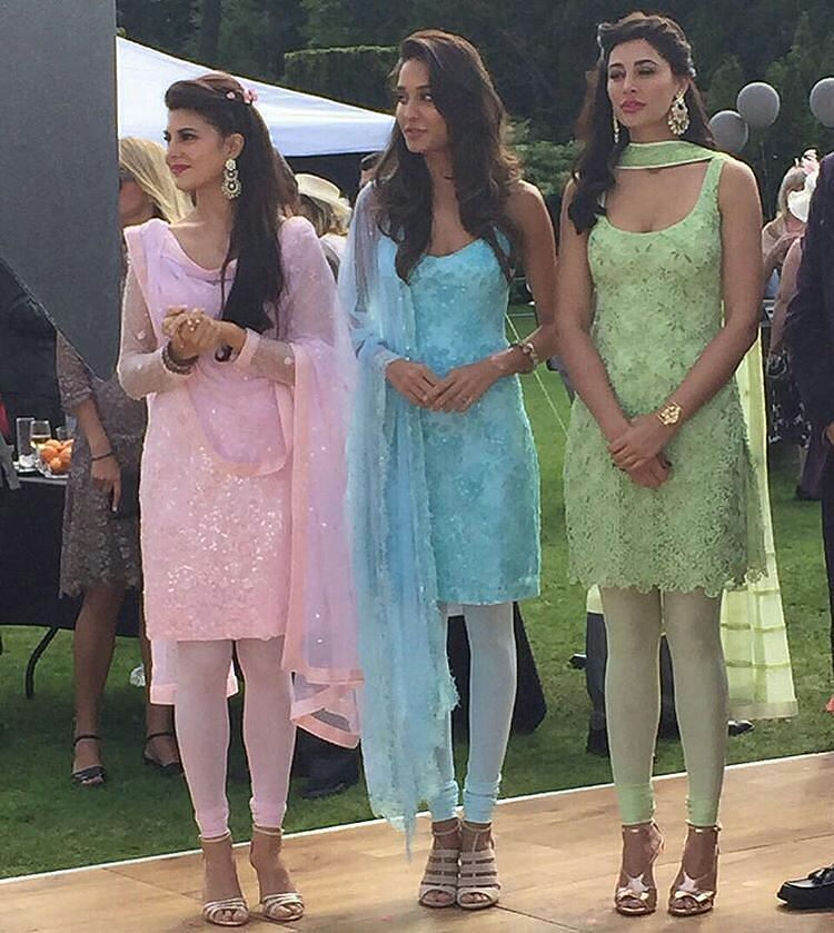 Housefull 3 Girls In Traditional Look! You Loved It!!!?!?!? [ #jacquelinefernandez #Jacqueline #lisahaydon #nargisfakhri #HouseFull3 #Bolly #Bollywood ] by #BollywoodScope