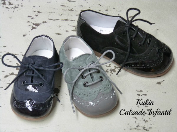 b32e2a42e zapatos niño - blucher Landos fabricados en España. Comprar zapatos niño  online Zapatería Kukin