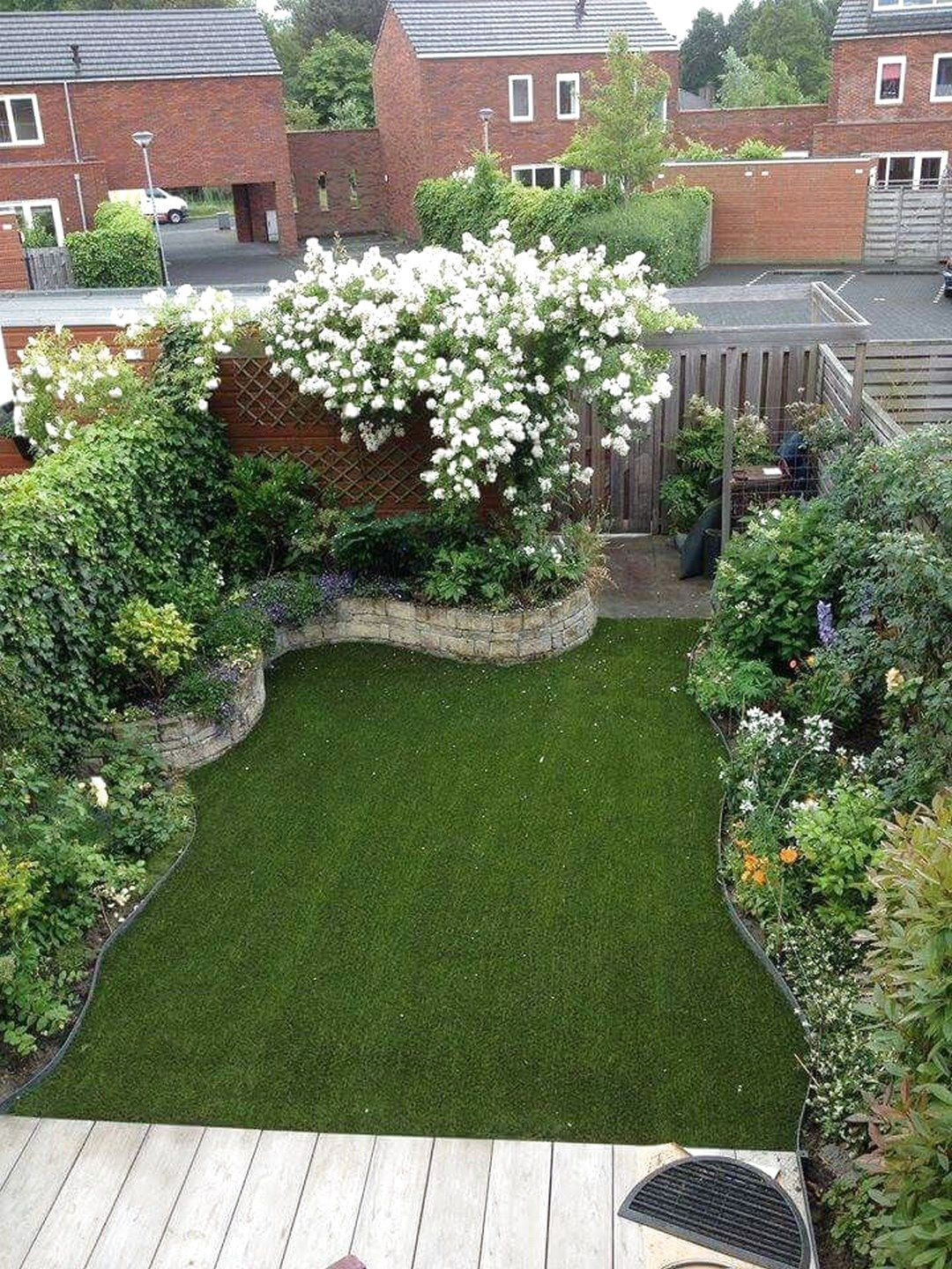 Photo of ✔48 Best Small Yard Landscaping & Flower Garden Design Ideas #SmallYardLandscaping     #FlowerGarden