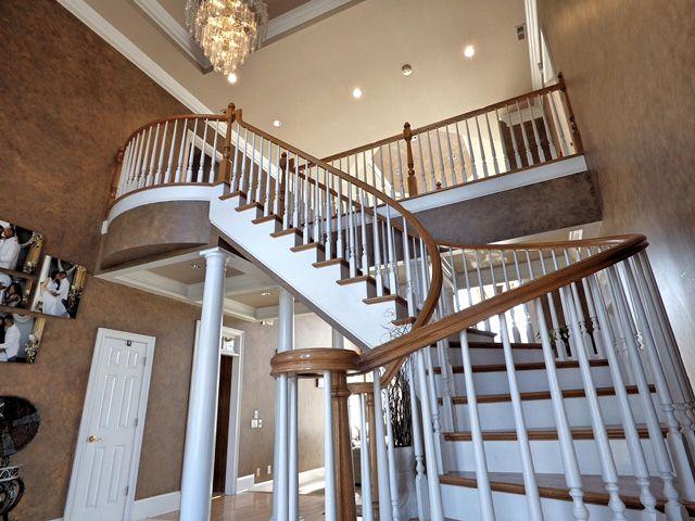 Best Foyer Has Double Door Entry Triple Trey Ceiling Crown 400 x 300