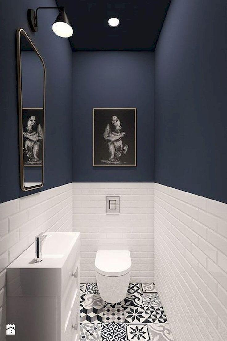 93 Cool Black And White Bathroom Design Ideas  Barcelonabarcelona