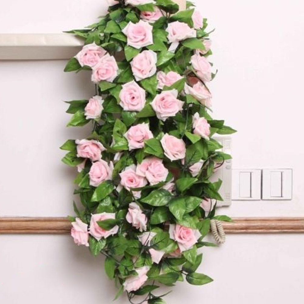 Silk cloth artificial flowers fake simulation red pink champagne cheap garland pink buy quality garland artificial directly from china garland vine suppliers silk cloth artificial flowers fake simulation red pink izmirmasajfo Choice Image
