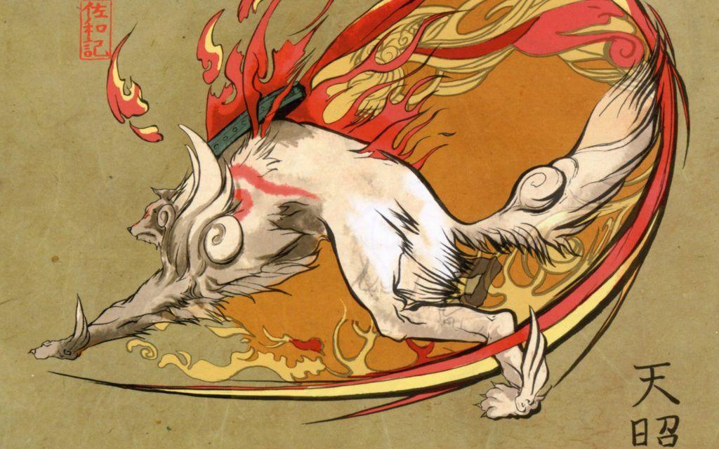 Okami Wallpaper 65 Quality Hd Graphics New Wallpapers Amaterasu Okami Art