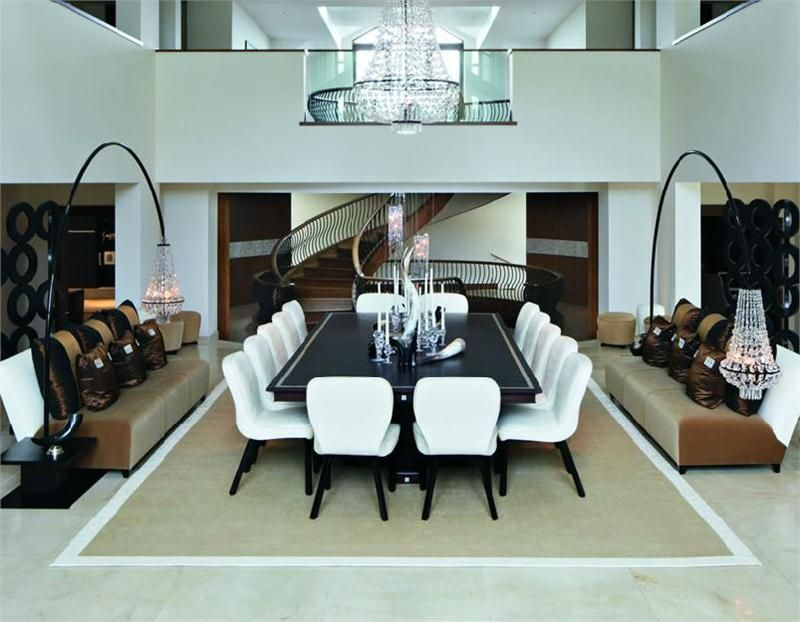 "kelly hoppen ""the modern mansion"" dining room (pinnedwww"