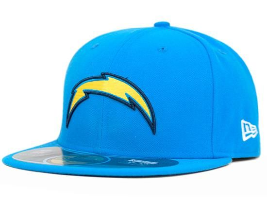 NEW ERA x NFL「San Diego Chargers Sideline」59Fifty Fitted Baseball Cap