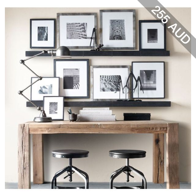 Zinc Wall Ledge Straight Study Desk Pinterest