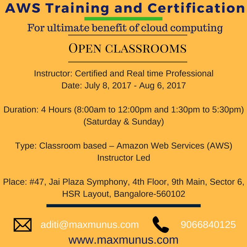 Amazon Web Servicves Aws Training And Certification Amazon Web