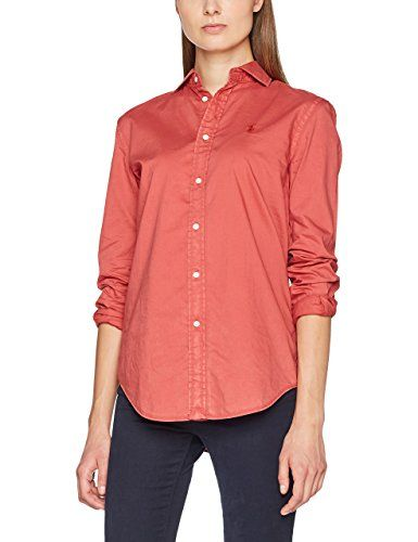 3f515a2280c93c Polo Ralph Lauren Women s LS RX Est ST-Long Sleeve-Shirt Blouse