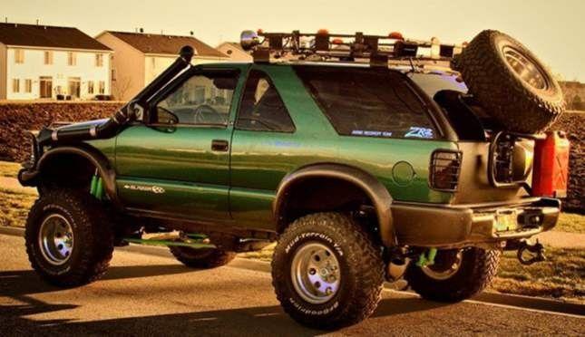 Superlift K327 S10 Blazer Zr2 S15 Jimmy Highrider 6 Lift Kit