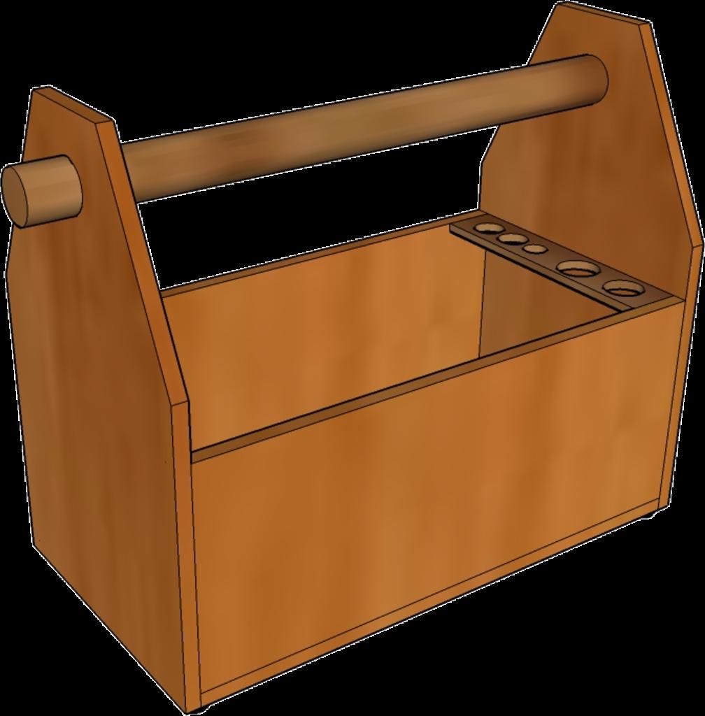werkzeugkiste, werkzeugkasten, holz selber bauen, vorlage, pdf