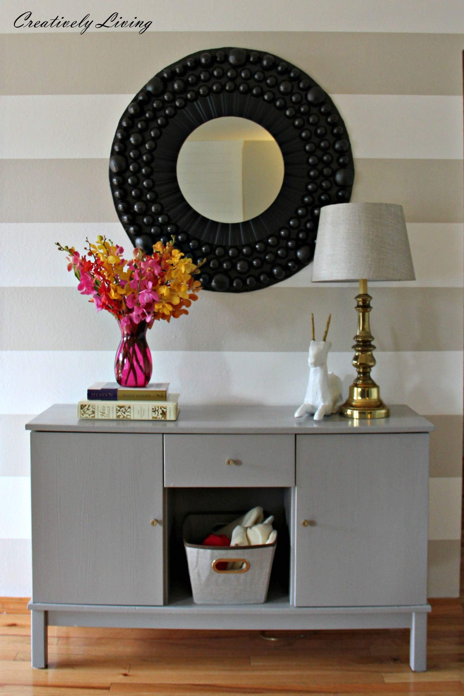 DIY Giant Awesome Bubble Mirror by | Home decor, Decor ...
