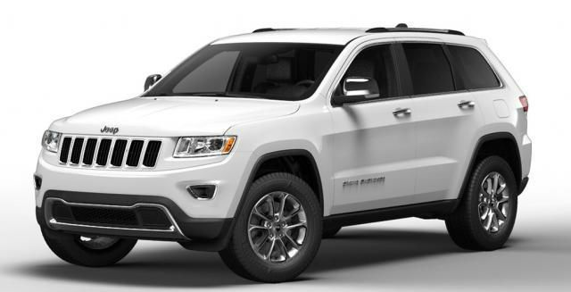 2014 Jeep Grand Cherokee White Limited Jeep Cherokee Rvinyl
