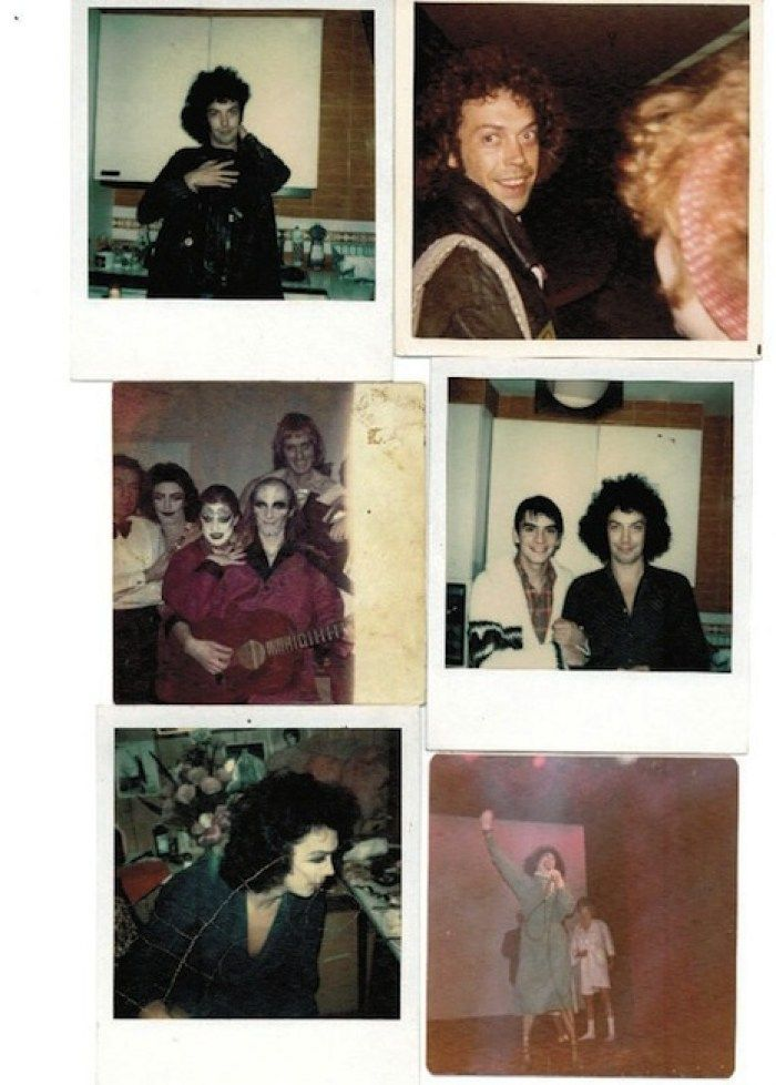Lost Rocky Horror Picture Show BehindtheScenes Polaroids