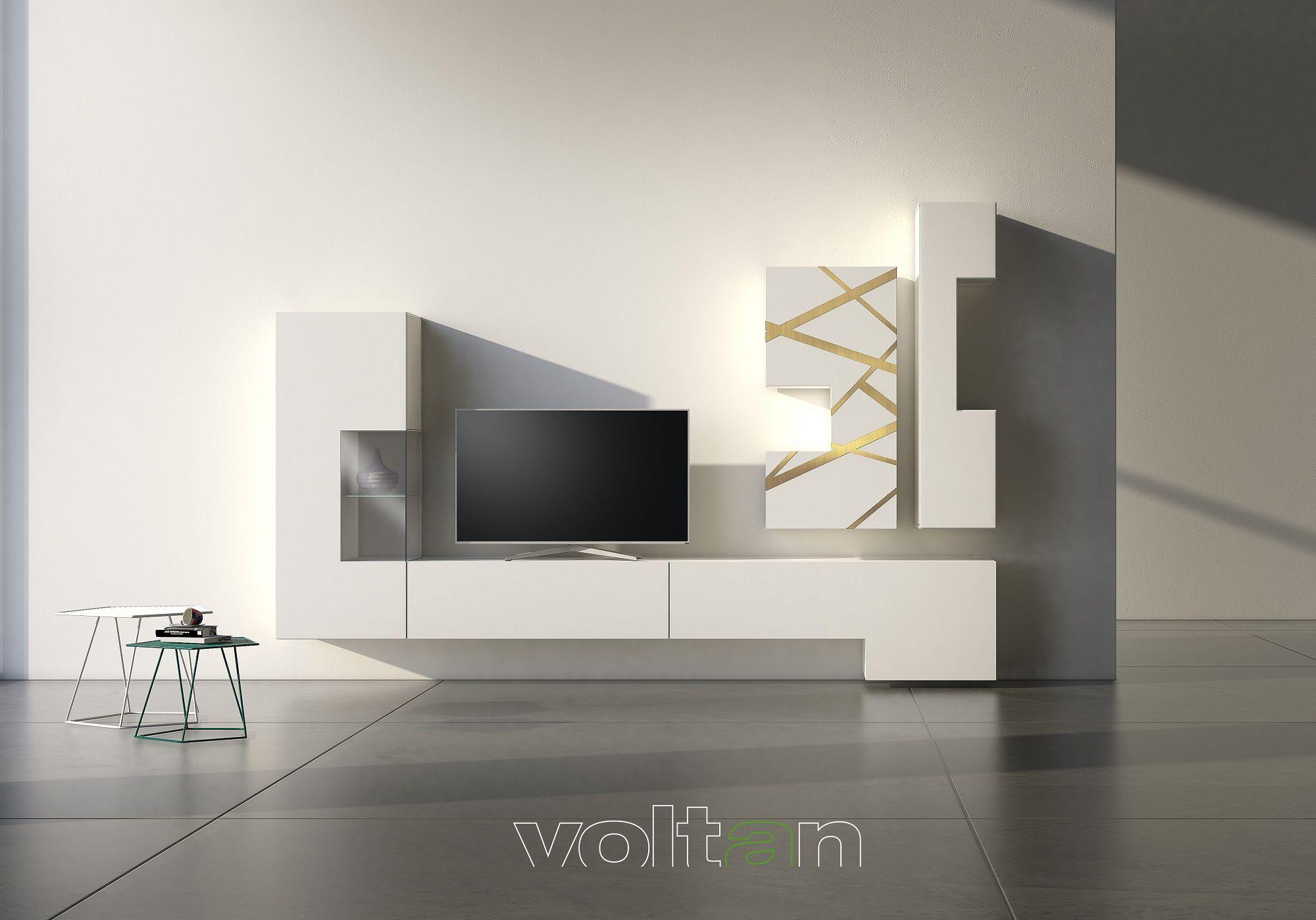 Mobili soggiorno moderni bianchi | Arredamento casa ...