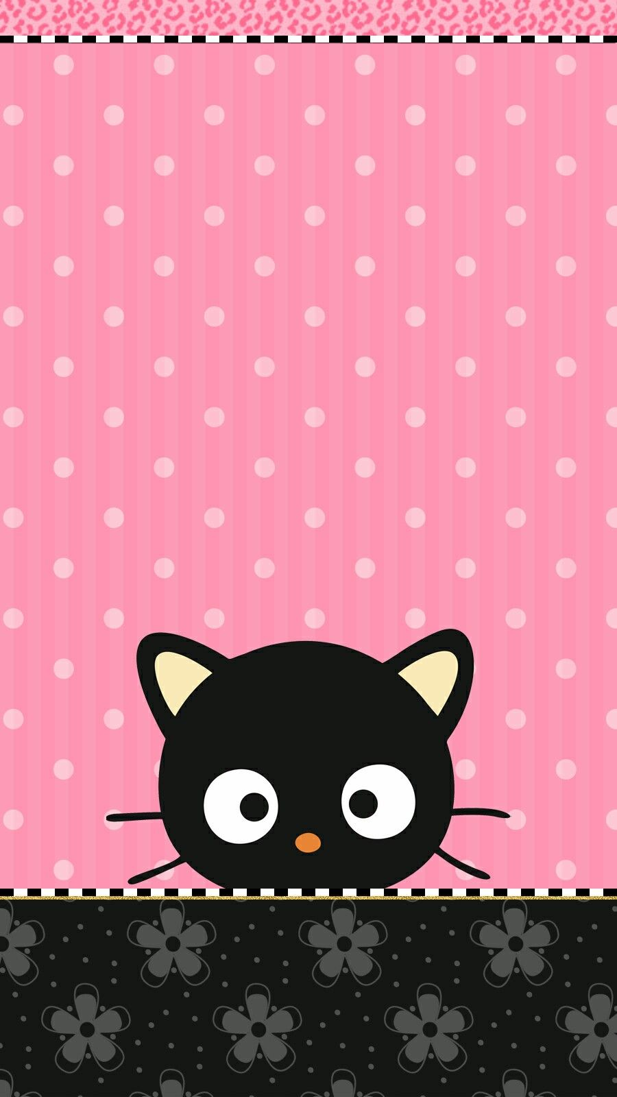 chococat #wallpaper #iphone #pink | Cute walls by me♡ | Pinterest ...