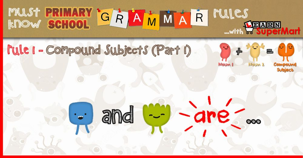 Subject Verb Agreement For Compound Subjects Primary School