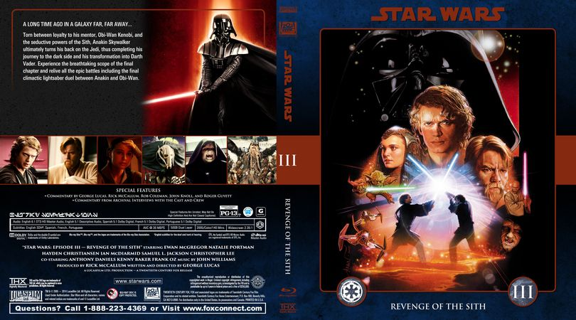 Star Wars Collection Star Wars Episode Iii Revenge Of The Sith Efx Coverart Gallery Star Wars Episodes Star Wars Collection Star Wars