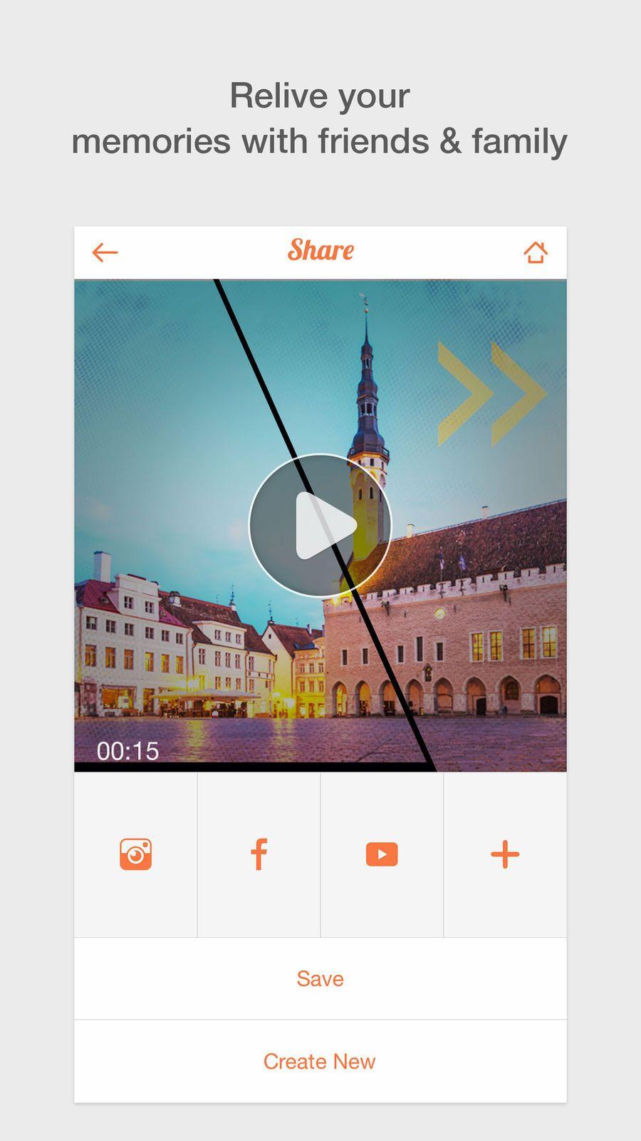 GoPix Image Slideshow Creator create a photo slide movie