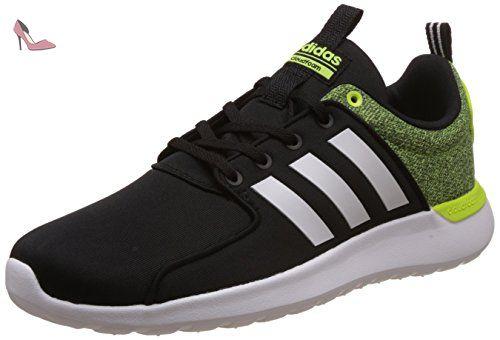 adidas Cloudfoam Lite Racer, Chaussures de Tennis Homme, Noir (Negbas/Ftwbla/Amasol), 46 EU - Chaussures adidas (*Partner-Link)