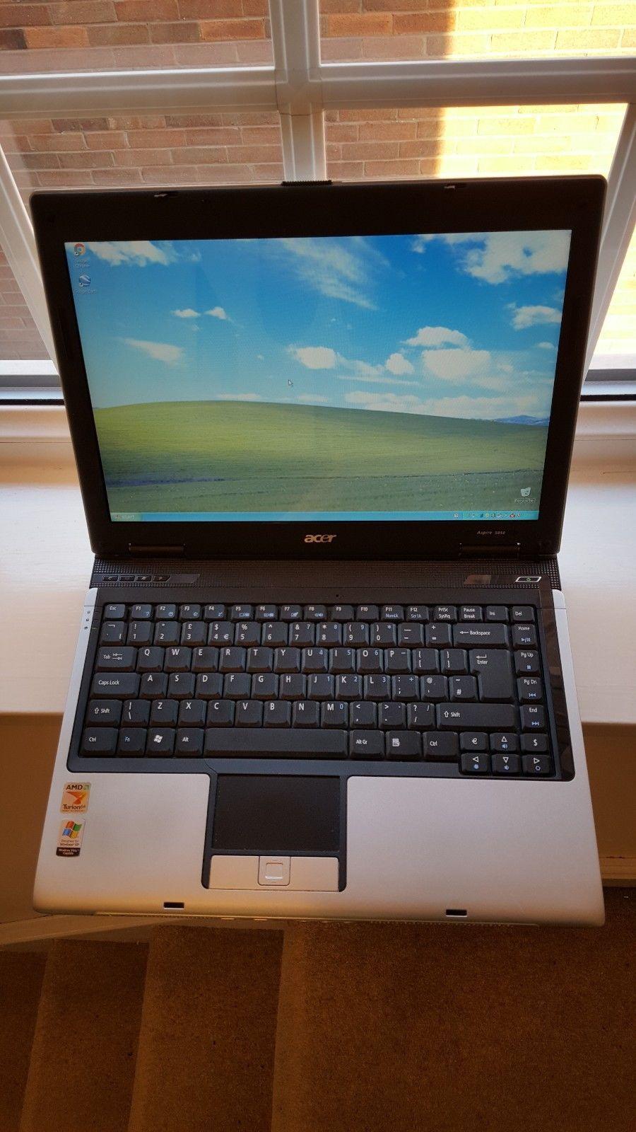"Acer Aspire 5050 Laptop Notebook 14.1"" 2GHZ 768MB Windows XP AMD Turion 64"