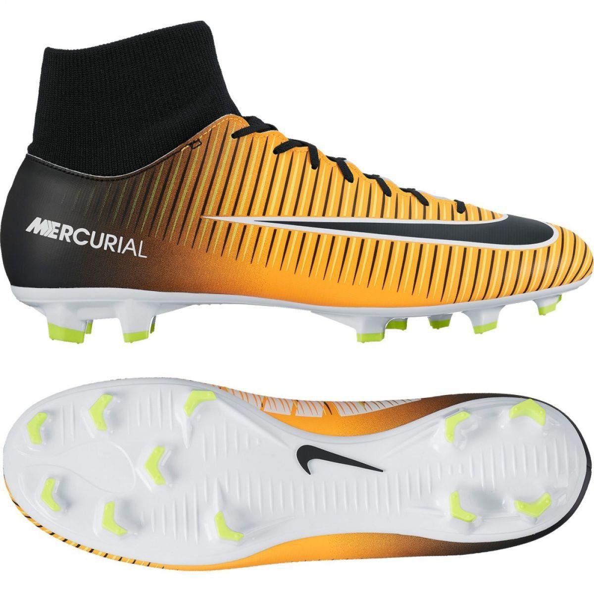 Buty Nike Mercurial Victory Vi Df Fg M 903609 801 Zolte Pomaranczowe Womens Athletic Shoes Nike Cleats Mens Football Boots
