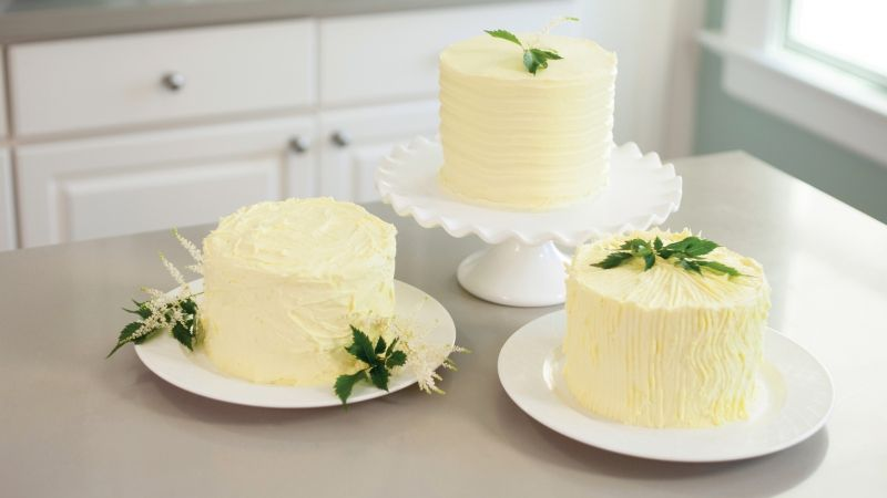 Learn three easy ways to ice a cake with buttercream from the ...