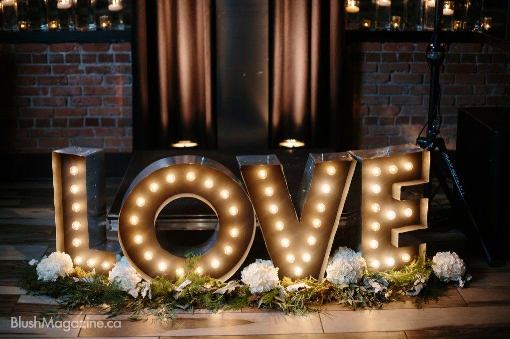Love Decor Signs Nicole & Jon's Sutro Forest Weddinglove Love Marquis Sign