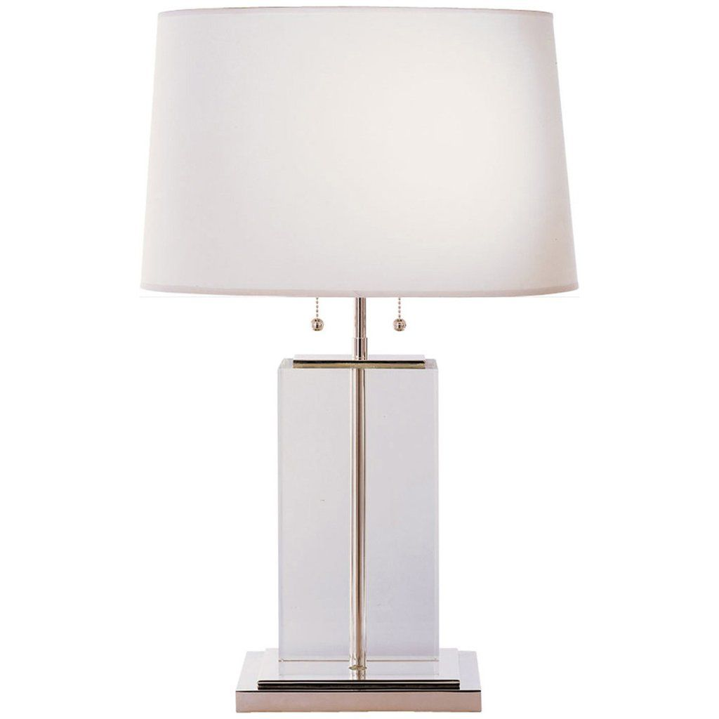 Superb Visual Comfort Lighting Thomas OBrien Block 2 Lights Table Lamp
