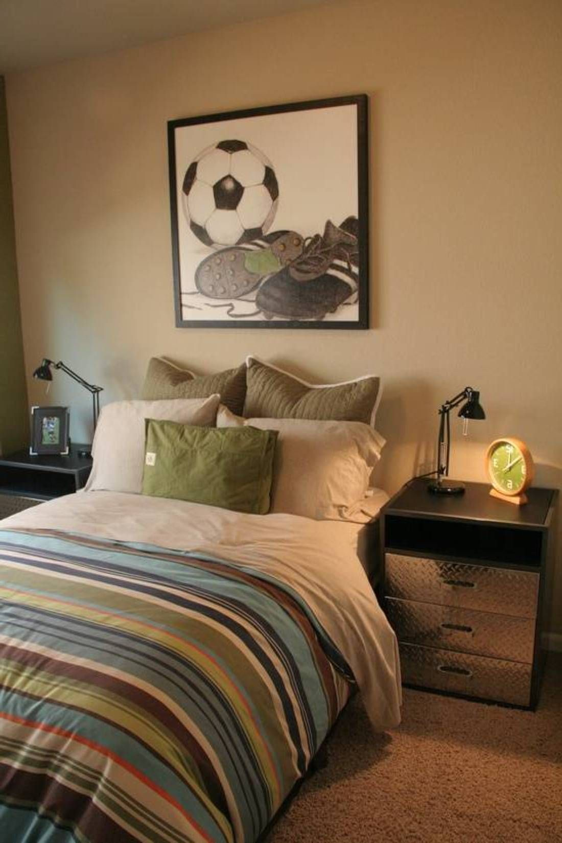 Sports Themed Bedrooms for Boys Bedroom themes, Boys