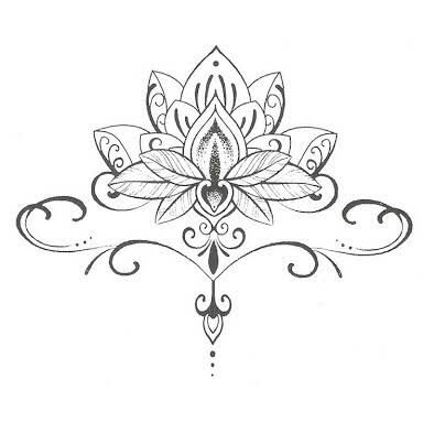 Flor De Lotus Desenho Google Search Tattoo Ideas Pinterest