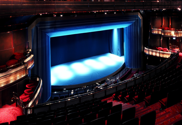 Prince Of Wales Theare Auditorium The View From Circle