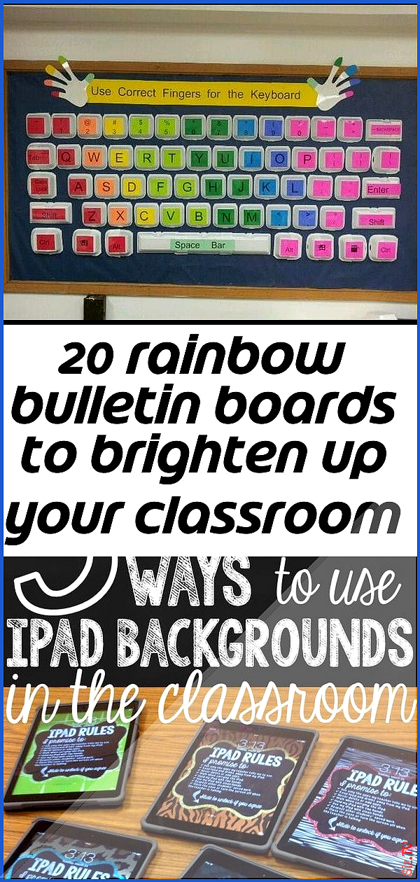 20 rainbow bulletin boards to brighten up your classroom 20 rainbow bulletin boards to brighten up