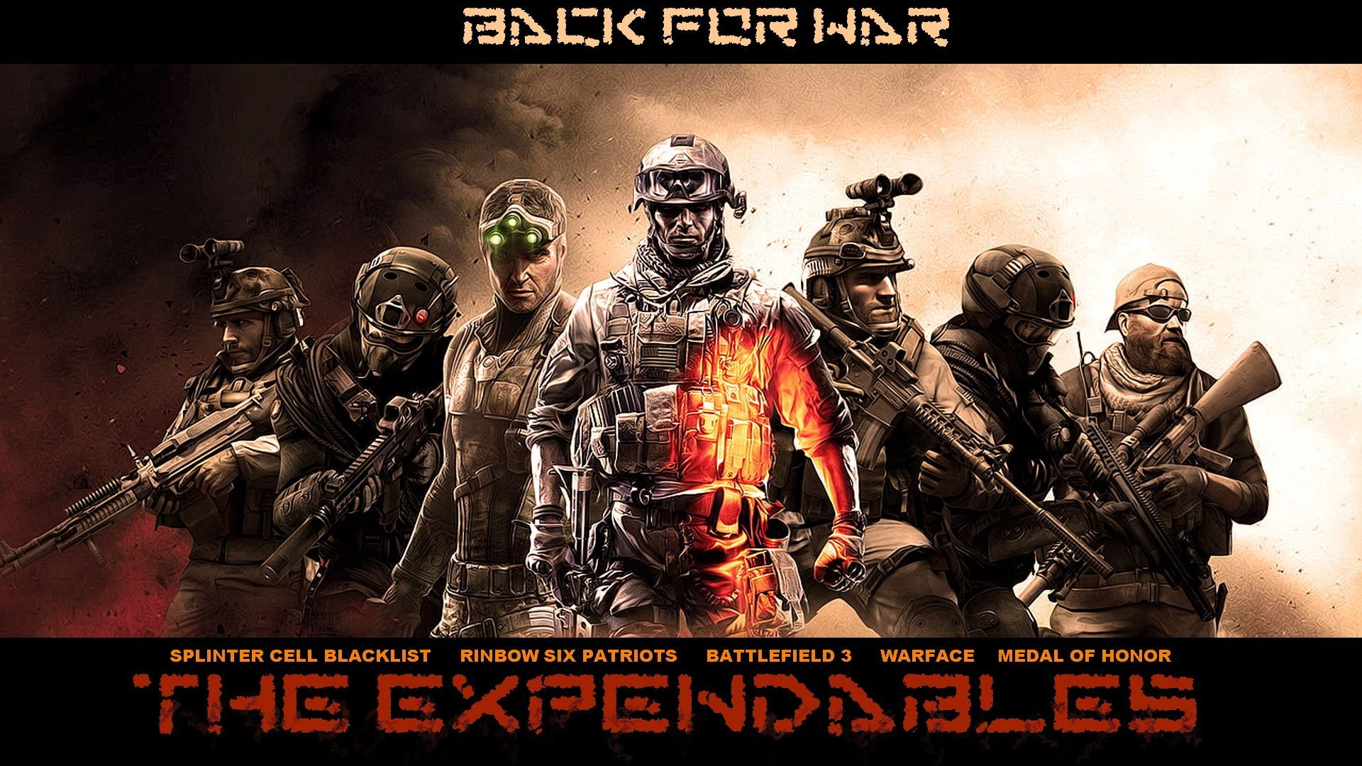 The Expendables Game 1080p Widescreen Hd Wallpapers