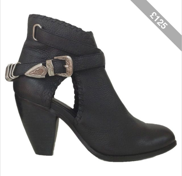 Madison Harding Olivia cut out boots.