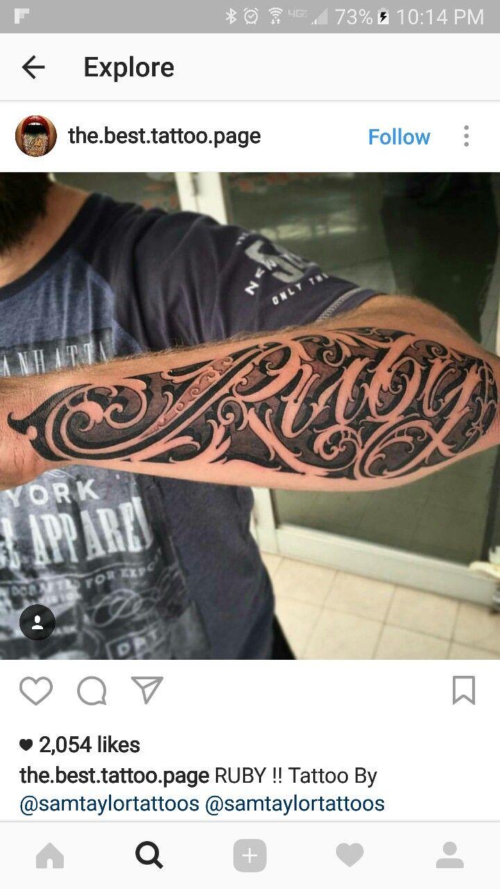 Tattoo ideas for men names pin by gakon gakon on font  pinterest  tattoo tatting and tatoo