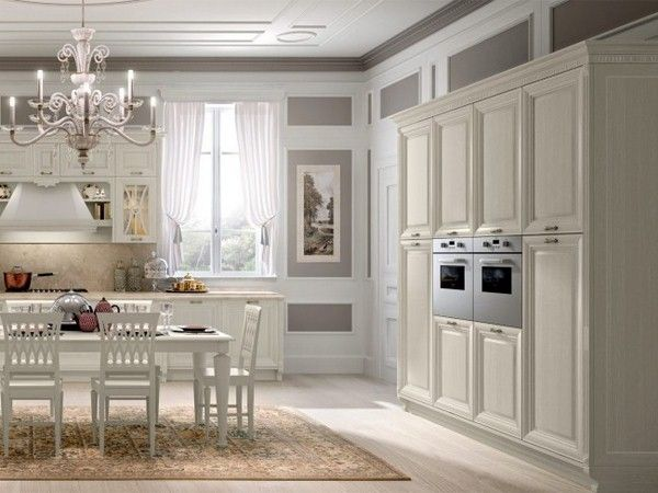 système de bloc intégré cuisine fours du cabinet salle à manger