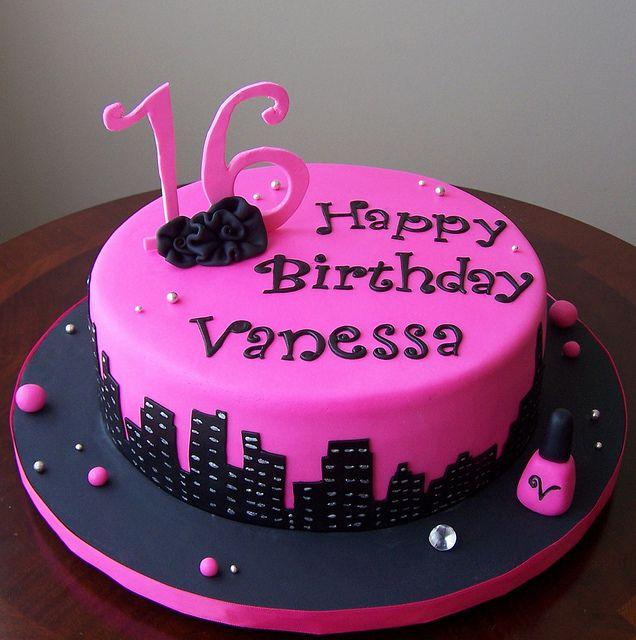Sweet Sixteen Cake Torten